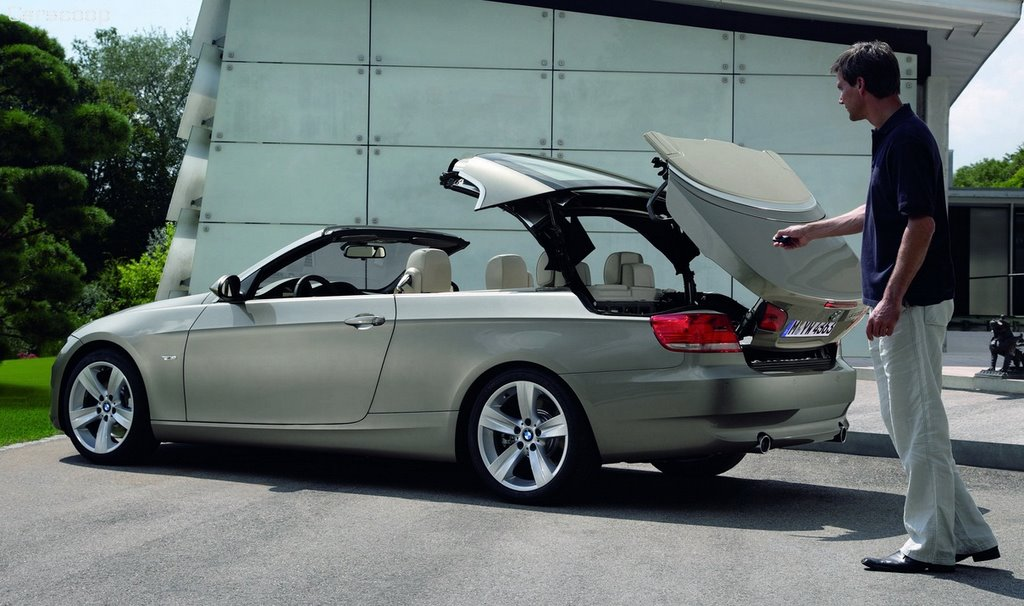 2007 bmw 3 series convertible video carscoops. Black Bedroom Furniture Sets. Home Design Ideas