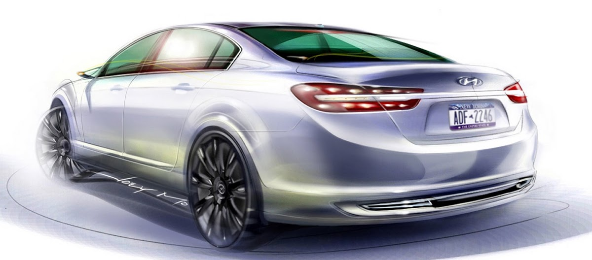 Hyundai Genesis Concept Ny Show Debut For Luxury Rear Wheel Drive