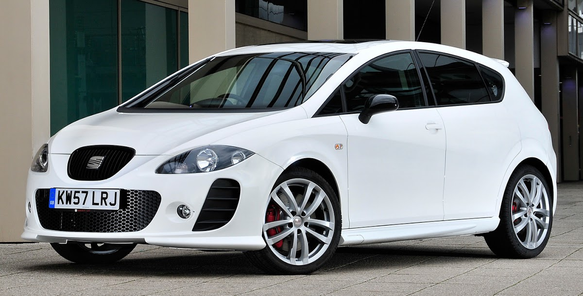 2008 seat leon cupra 240 hp k1 limited edition version carscoops. Black Bedroom Furniture Sets. Home Design Ideas