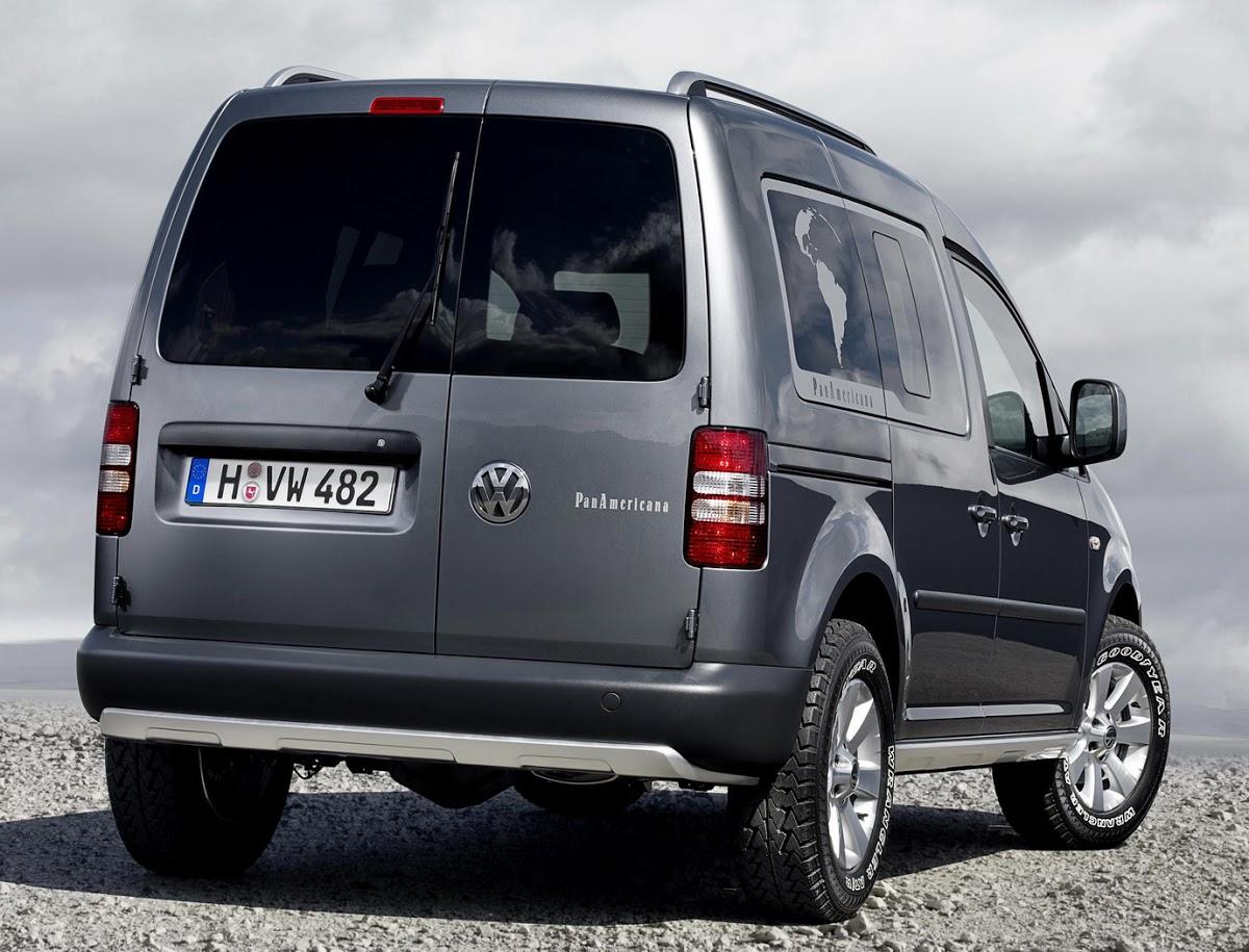 VW Caddy PanAmericana Study - New Photos | Carscoops
