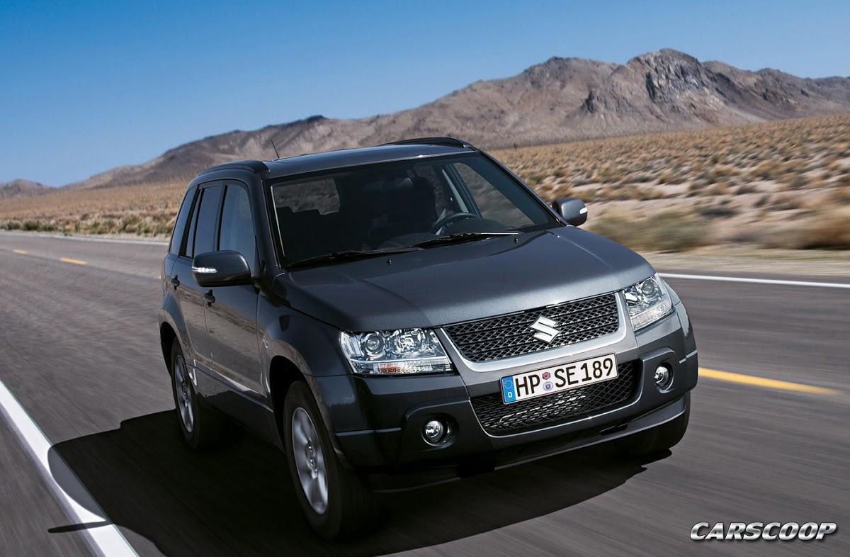 Suzuki Grand Vitara Facelift with new 2.4L Engine: 32 High ...