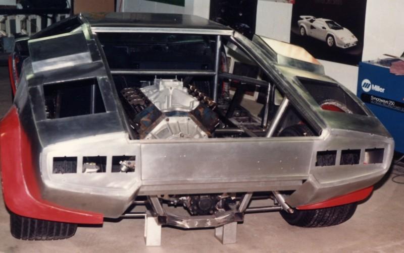 Attractive ... Lamborghini Countach Replica ...