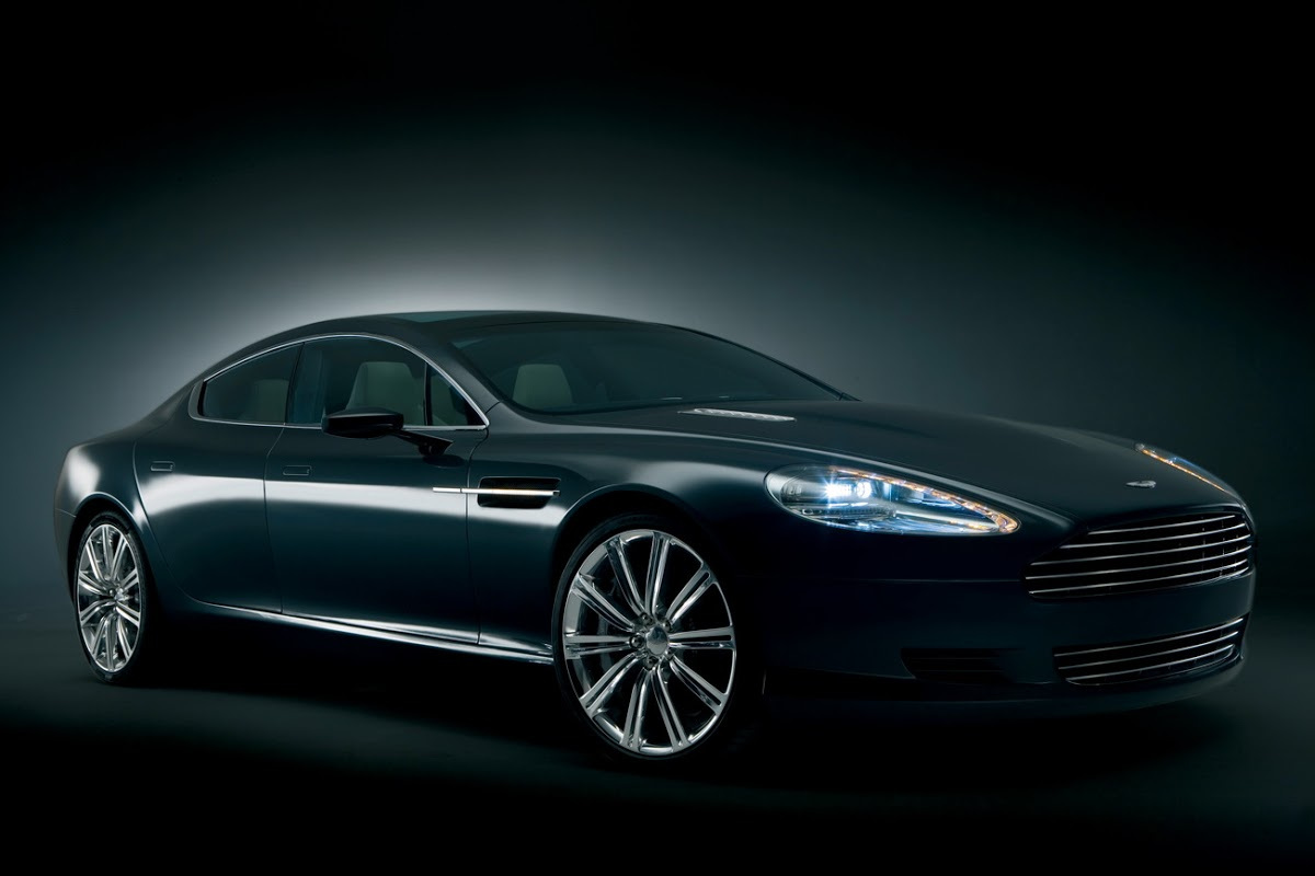 Aston Martin Rapide Sports Sedan: First Official Rendering