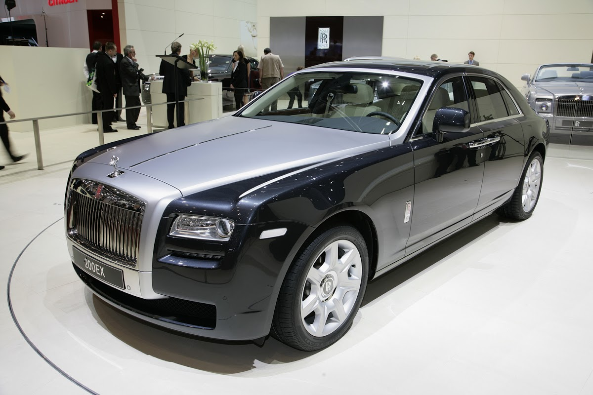 39 baby 39 rolls royce pr4 named ghost carscoops. Black Bedroom Furniture Sets. Home Design Ideas