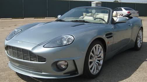 Beautiful EBay Find: Jaguar XK Convertible Crossdressed As An Aston Martin