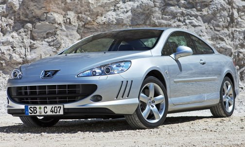 2010 peugeot 407 coupe gains new 163hp 2 0l and 240hp v6 diesel engines carscoops. Black Bedroom Furniture Sets. Home Design Ideas
