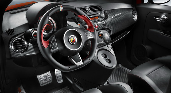 Fiat Unleashes 500-Based Abarth 695 Tributo Ferrari: Limited Edition