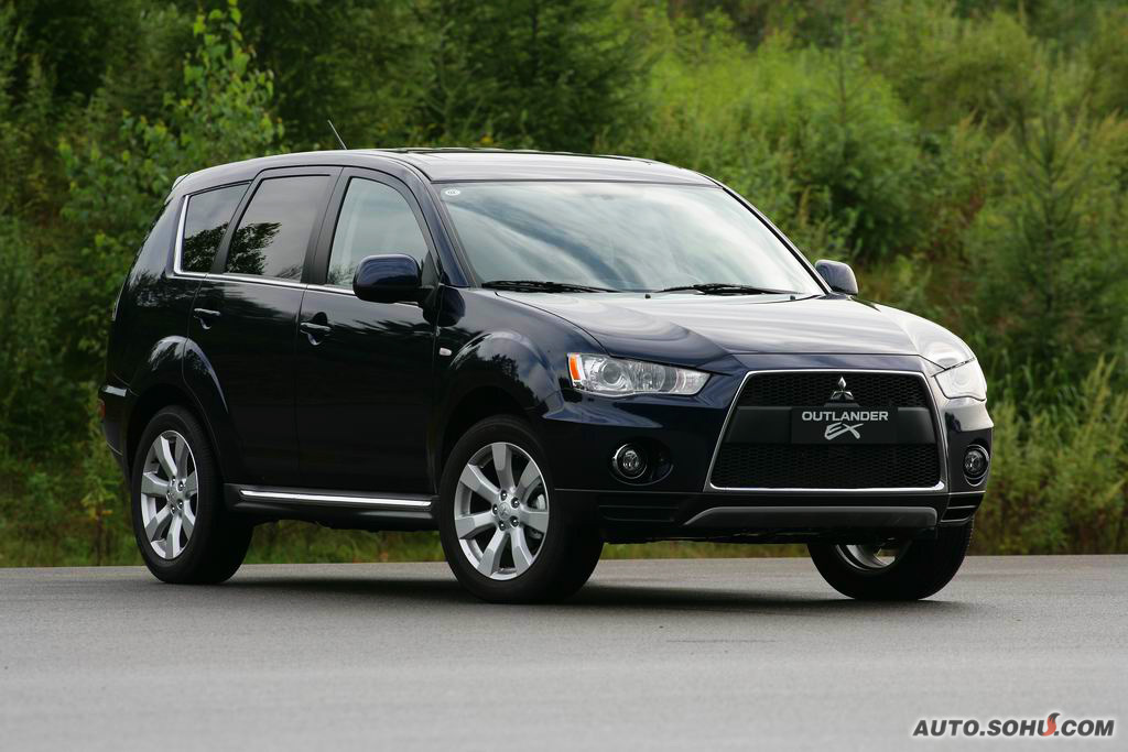 2010 Mitsubishi Outlander Facelift With Evo Snout Breaks Cover In China Carscoops
