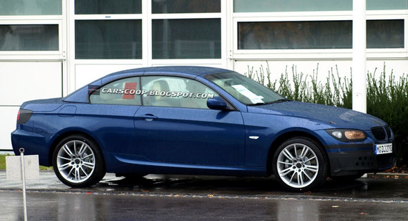 spied 2010 bmw 3 series coupe and convertible facelift. Black Bedroom Furniture Sets. Home Design Ideas