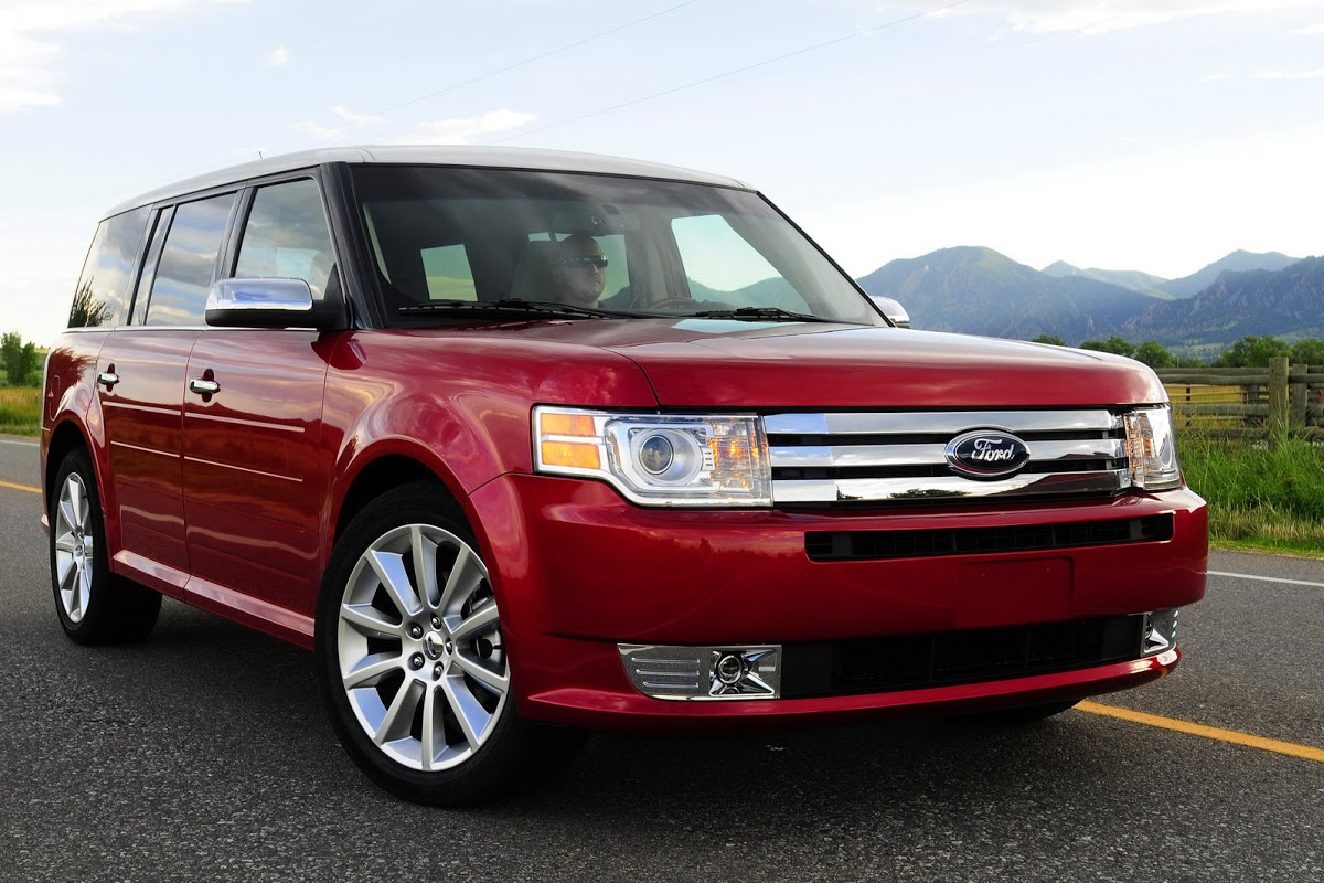 Huh  Ford Flex Voted As The 2009 Collectible Vehicle Of