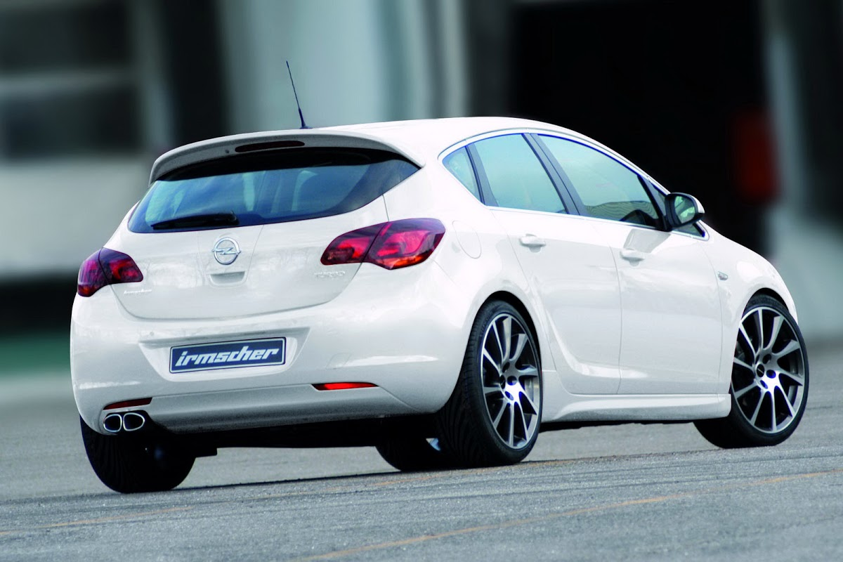 Irmscher Upgrades Its 2010 Opel Astra Styling Kit Carscoops