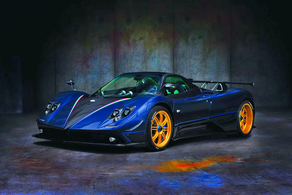 Pagani S Three Color Wonder The One Off Zonda Tricolore Carscoops