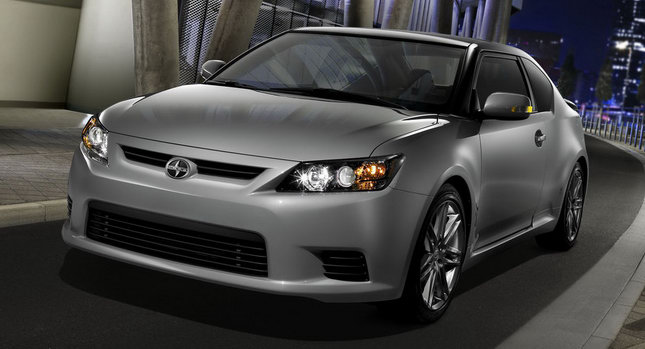 all new scion tc coupe with 180hp 2 5 liter engine. Black Bedroom Furniture Sets. Home Design Ideas