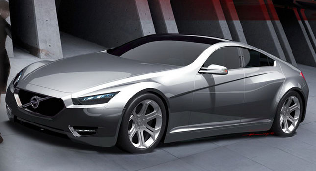 Volvo Sports Car >> 2015 Volvo Sc90 Sports Sedan Concept Is Hot Carscoops