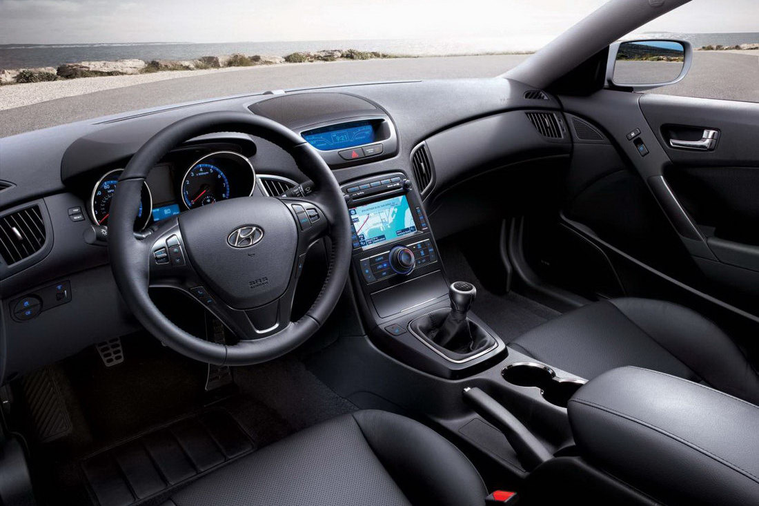 2011 Hyundai Genesis Coupe Receives Interior Refinements And New 3.8 V6  R Spec Model