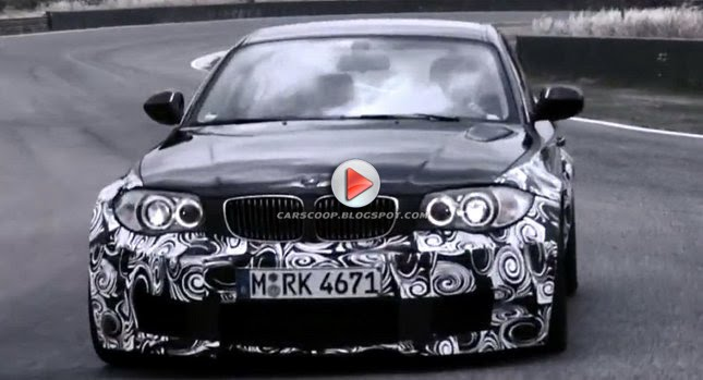 BMW 1 Series M Coupe: Official Teaser Video And Photos Of Smallest Ever M  Model