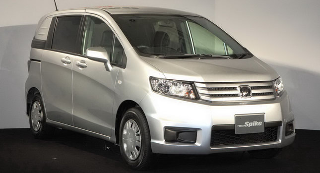 New Honda Freed Spike Lifestyle