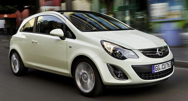 Opel corsa mpg