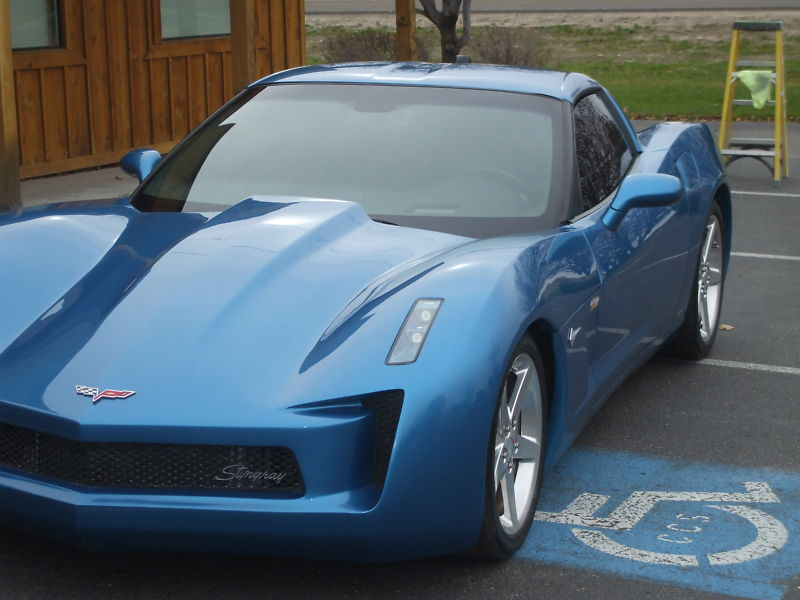Transformer's Corvette Stingray Concept Replica from ...