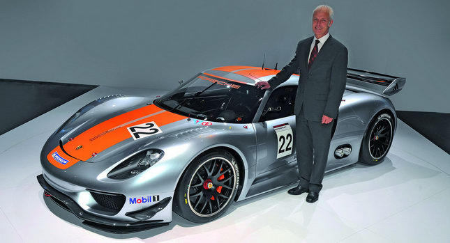 World Premiere For Porsche 918 Rsr Coupe Concept At Detroit Show