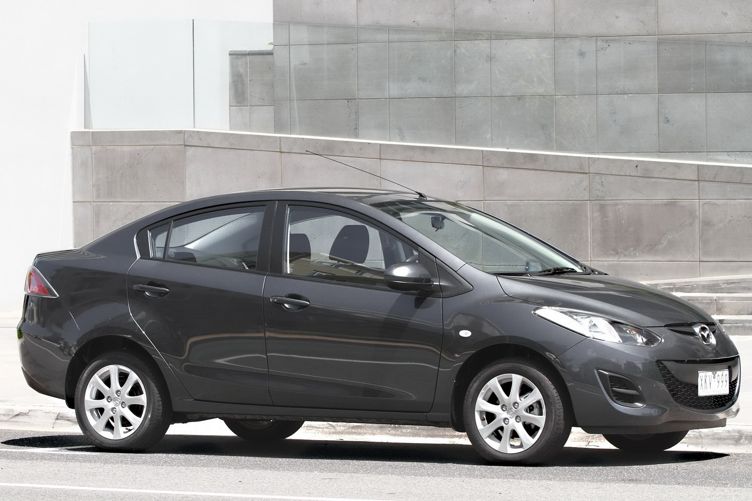 Australia Now You See The New Mazda2 Sedan Now You Don T Carscoops