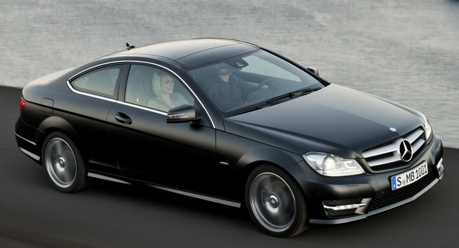 c220 coupe 2012
