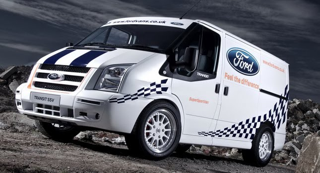 Ford Crafts a One-Off Transit SSV Powered by a 3.2-liter Turbo Diesel | Carscoops