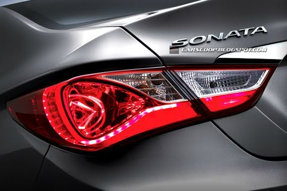2012 Hyundai Sonata Receives Its First Facelift In South Korea Carscoops