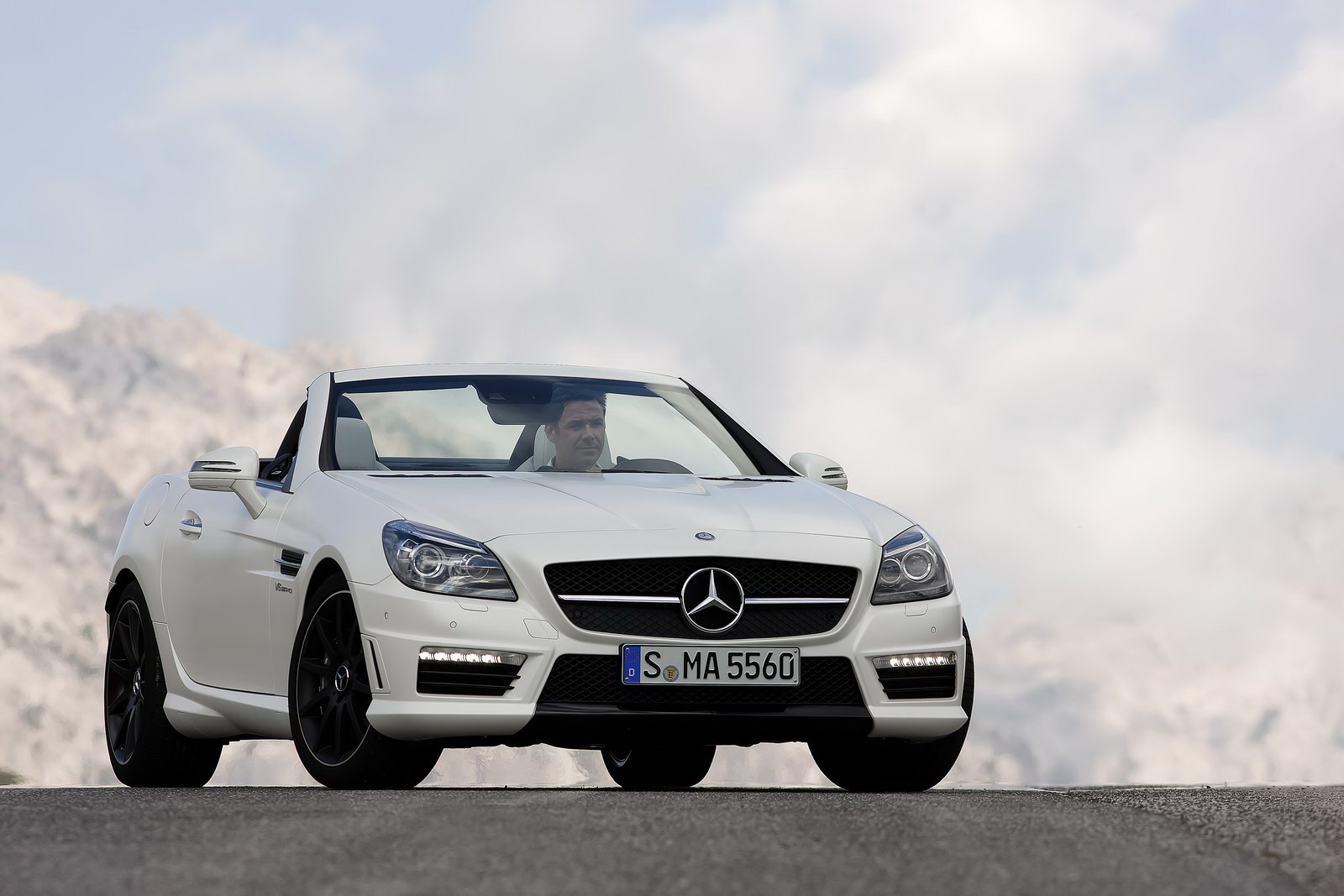 2012 Mercedes-Benz SLK 55 AMG Officially Breaks Cover [34 ...