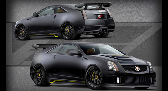 cadillac cts v coupe le monstre to terrorize las vegas with 1 001hp supercharged v8 carscoops. Black Bedroom Furniture Sets. Home Design Ideas