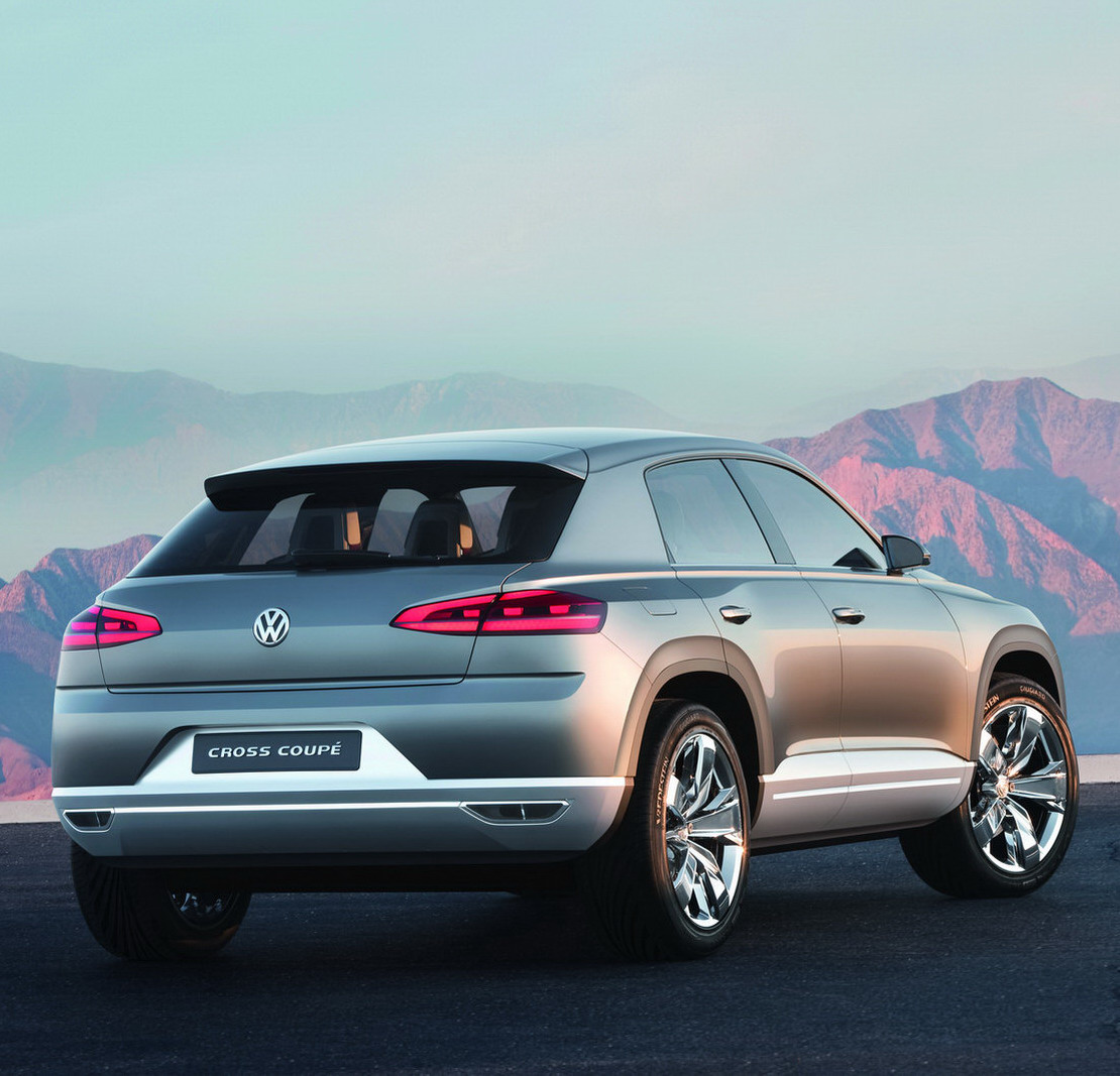New Volkswagen Cross Coupe SUV Concept Bows At 2011 Tokyo
