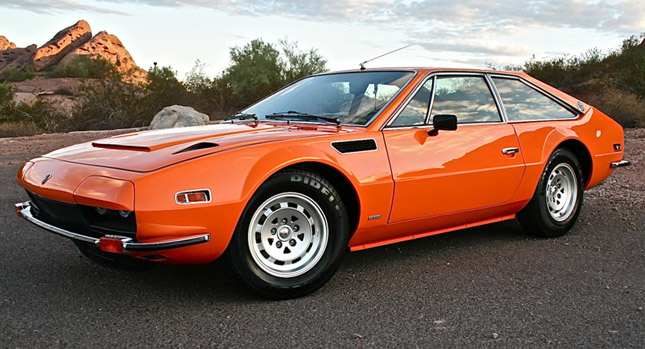Color me Orange: 1973 Lamborghini Jarama GTS Could be Yours for $79k ...