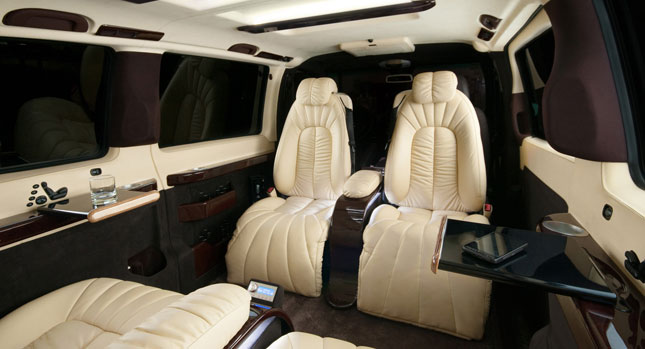 Mercedes-Benz Vito gets a First Class Interior by Bulgaria\'s Vilner ...