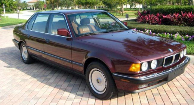 1989 BMW 750iL V12 with Only 3,000 Miles but an Asking Price of $48k ...