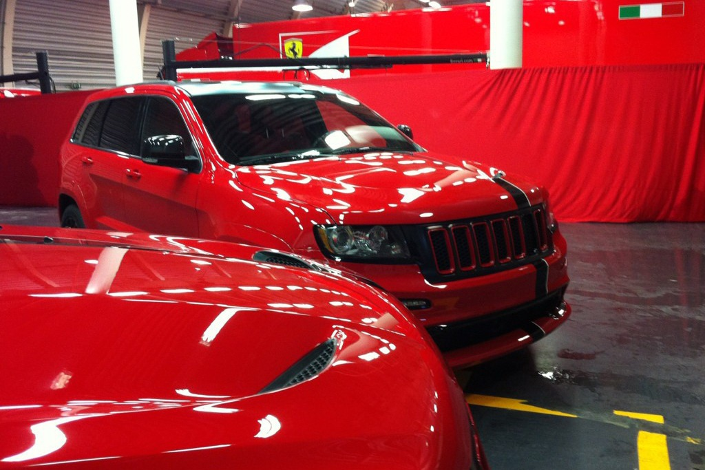 Jeep Cherokee Srt8 For Sale >> Ferrari-Flavored Jeep Grand Cherokee SRT8 Handed Over to ...