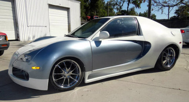 DUI Man Turns Honda Civic Into A Bugatti Veyron Wants You To Do The Same