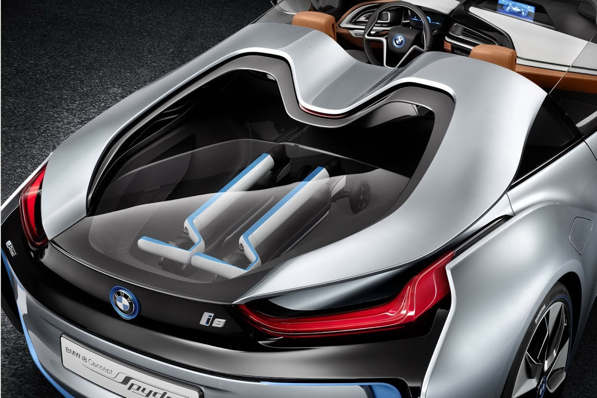 Bmw I8 Spyder Concept Shows The Way For A Production Model 45