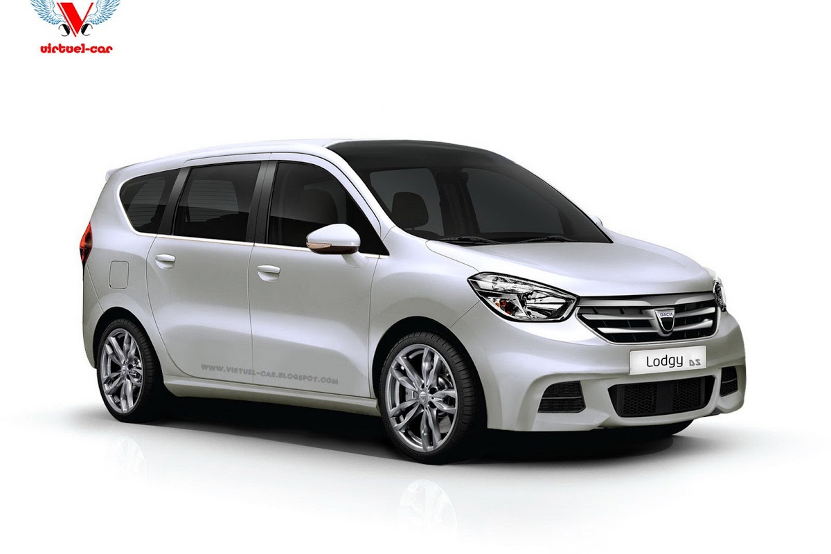dacia lodgy minivan conceptually sported up carscoops. Black Bedroom Furniture Sets. Home Design Ideas