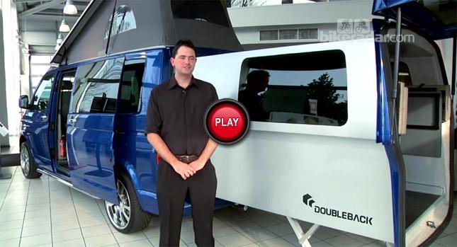 VW Transporter California Doubleback is an Extendable