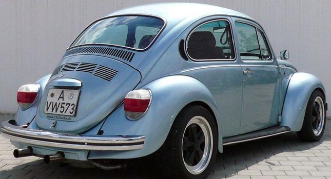 Killing Machine: 1973 VW Beetle with a Subaru WRX STI 2.0-liter ...