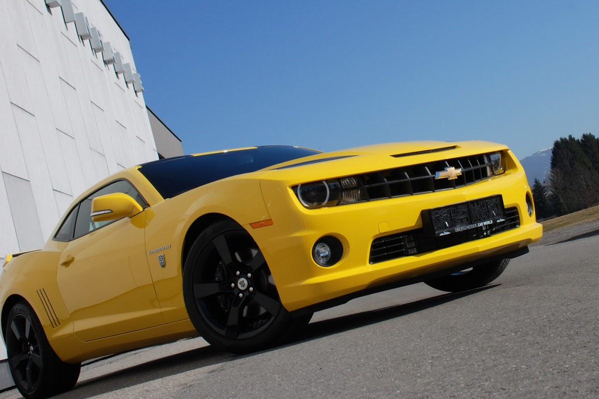 'Yellow Steam Hammer' Is A Supercharged Camaro By O.CT