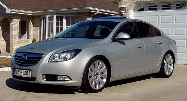 Buick regal opel insignia conversion