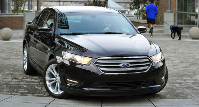 ford confirms fuel economy figures for 2013 taurus 2 0. Black Bedroom Furniture Sets. Home Design Ideas