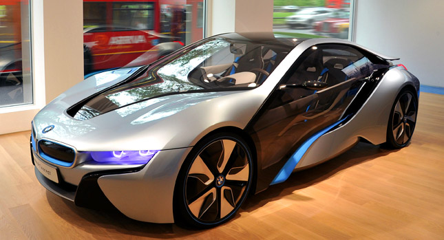 bmw says i8 plug in hybrid coupe to cost 39 more than 100 000 39 carscoops. Black Bedroom Furniture Sets. Home Design Ideas