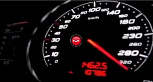 Watch an Audi TT RS Allegedly go from Zero to Over 330km/h – 205mph ...