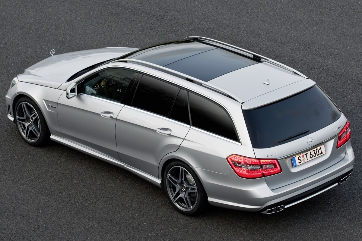 mercedes benz e63 amg wagon black series edition imagined