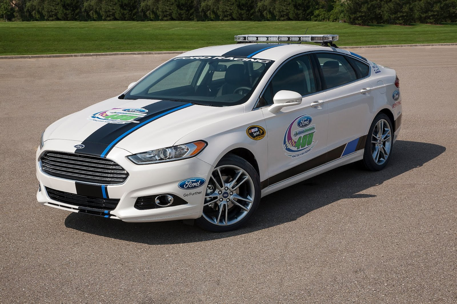 2013 Ford Fusion Pace Car to Drive Off the Track and Into the Driveway of One Lucky Fan [w/Video ...