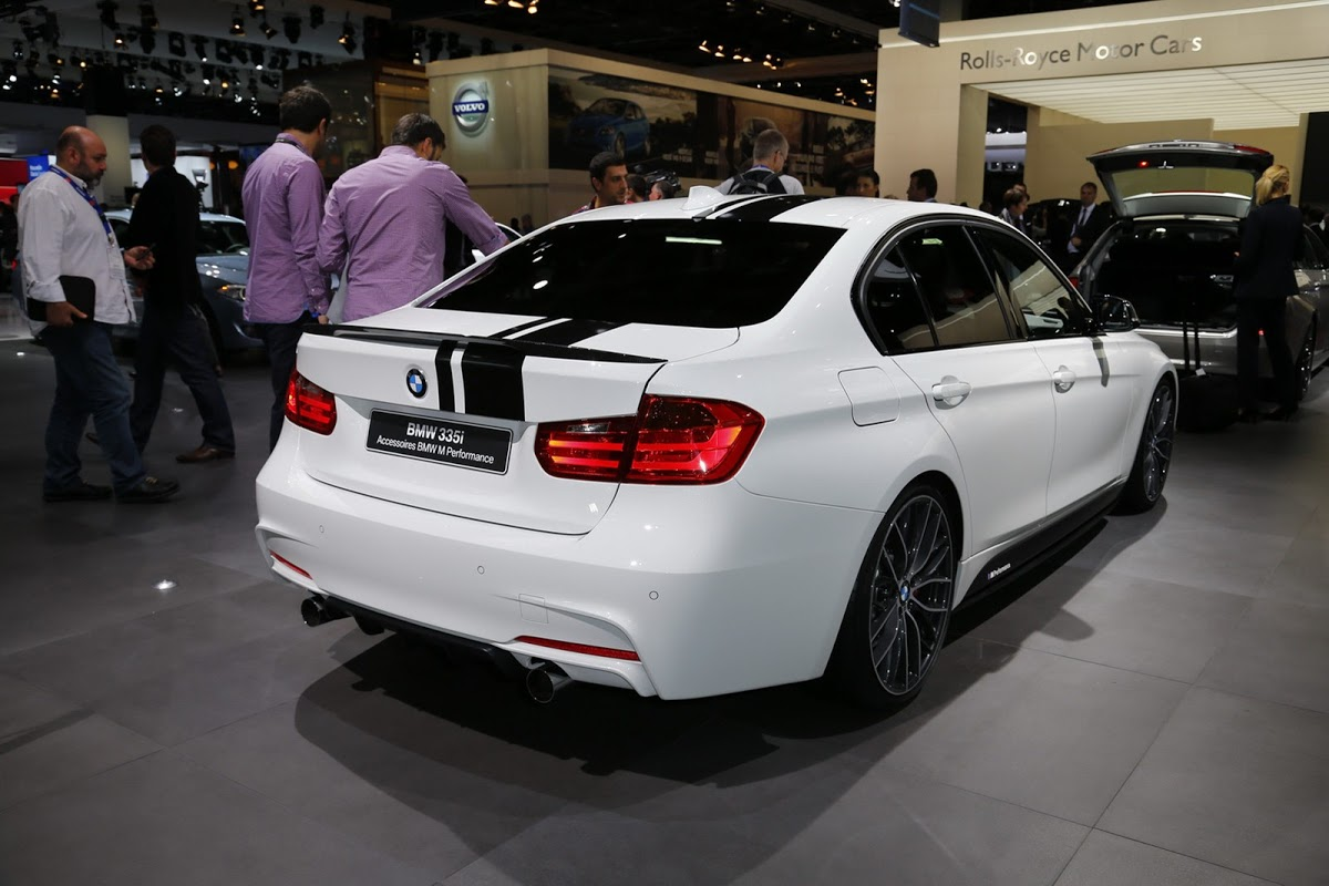 paris motor show bmw 335i sedan with m performance. Black Bedroom Furniture Sets. Home Design Ideas