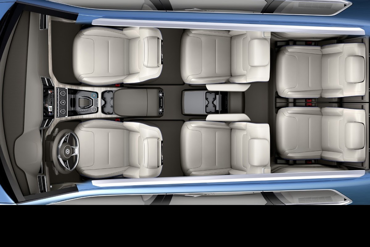 8 Seater Suv >> New Volkswagen CrossBlue 6/7-Seater SUV Concept in More Detail [Updated] | Carscoops