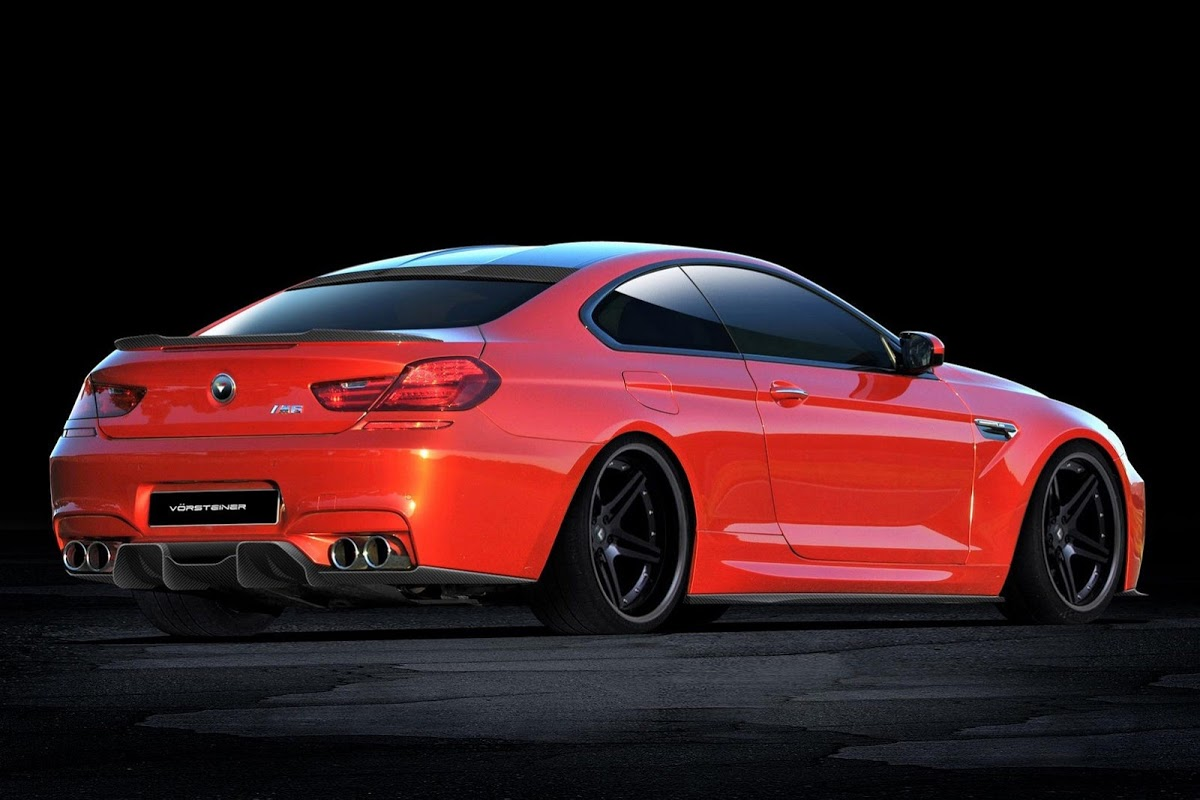 Vorsteiner Readying New Tune For Bmw M6 Coupe And Cabriolet Models Carscoops